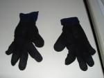 Krieg Handschuhe bemalen, sie kommen zueinander