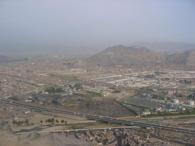 Lima vom Cerro San Christobal