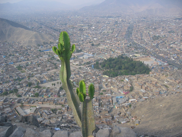 Blick vom Cerro San Christobal