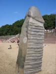 Dangast Skulpturen am Strand