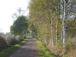 Weg am Stadtrand von Oldenburg