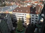 Goldenes Dachl vom Turm gesehen
