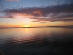 Sonnenuntergang im Oslo-Fjord