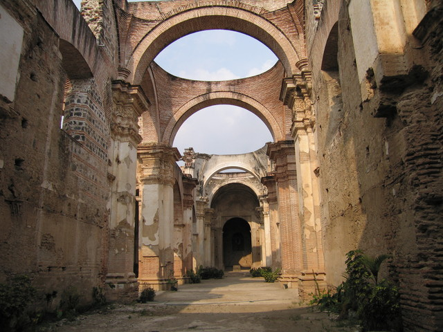 Antigua Ruinen der Kathedrale