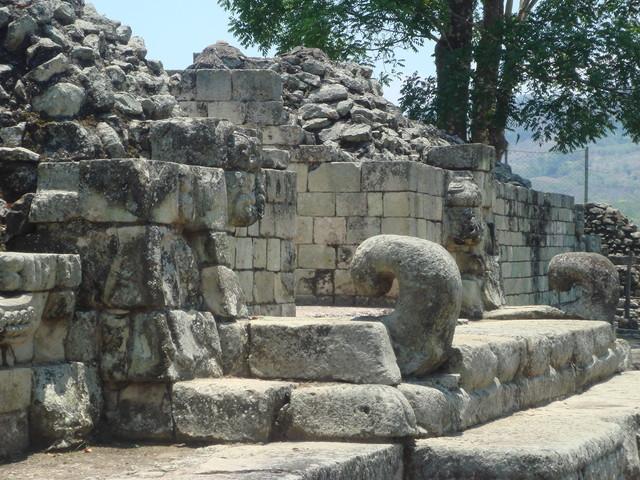 Copan Eingang zu Struktur 22