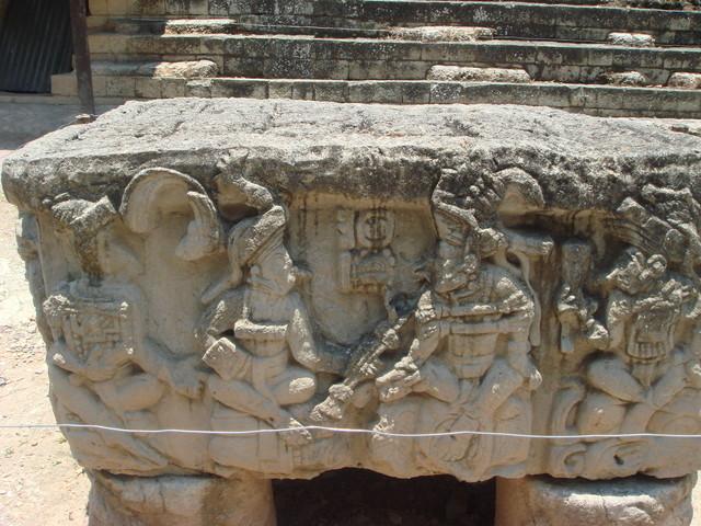 Copan Altar der Herrscher