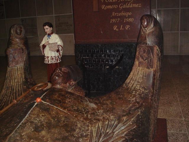 la tumba de Oscar Romero