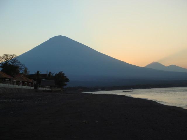Gunung Agung sunset