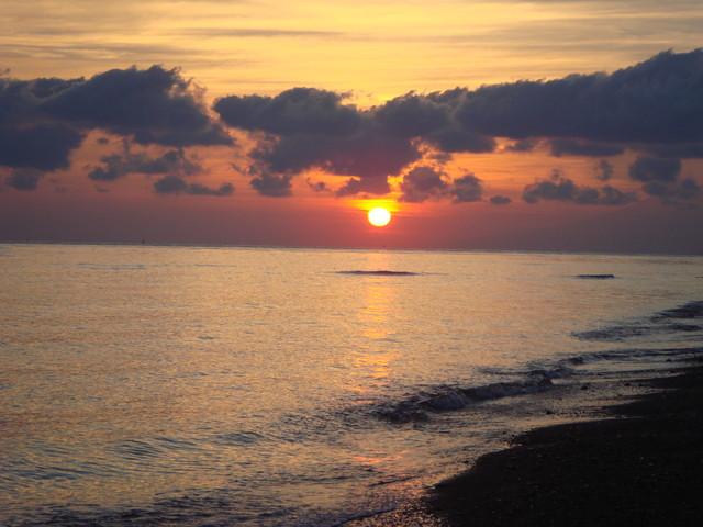Sonnenaufgang in Amed