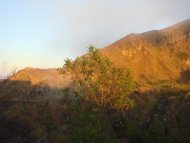 am Krater Gunung Batur