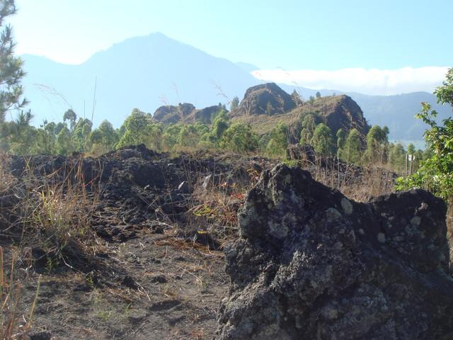Lavafelder des Gunung Batur