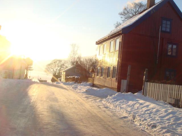 Lillehammer Pause auf der Hinfahrt