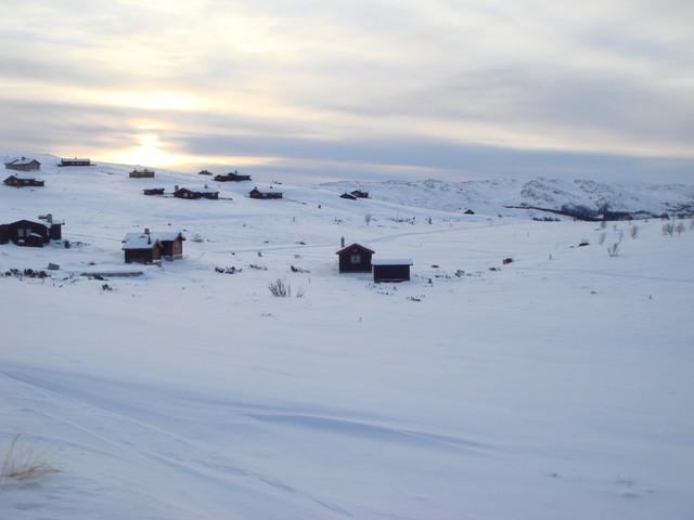 auf dem Fjell oberhalb von Mysuseter