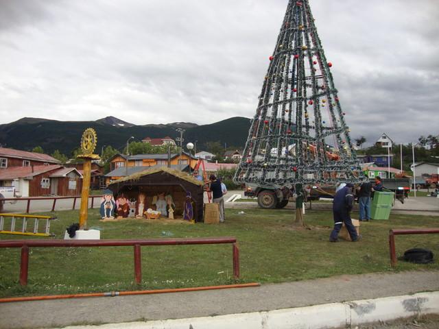 plaza O'Higgins Vorweihnachtszeit