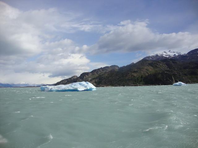 Eisberge auf dem Lago Argentino