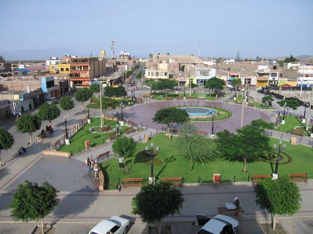 Nasca Plaza de armas