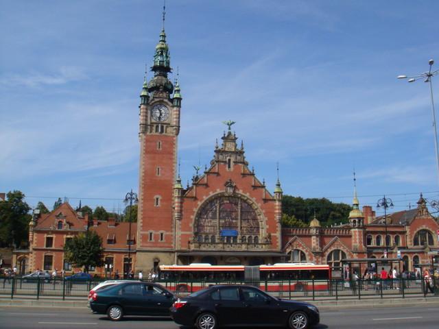 Bahnhof Gdansk