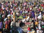 Markt im Massai-Gebiet