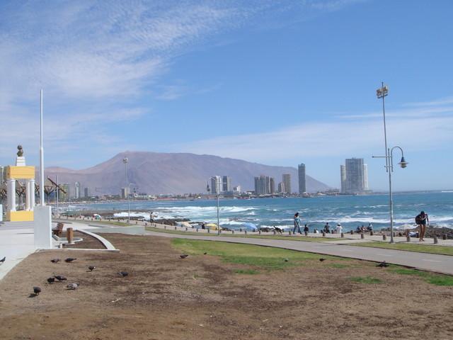 Iquique la playa en el centro