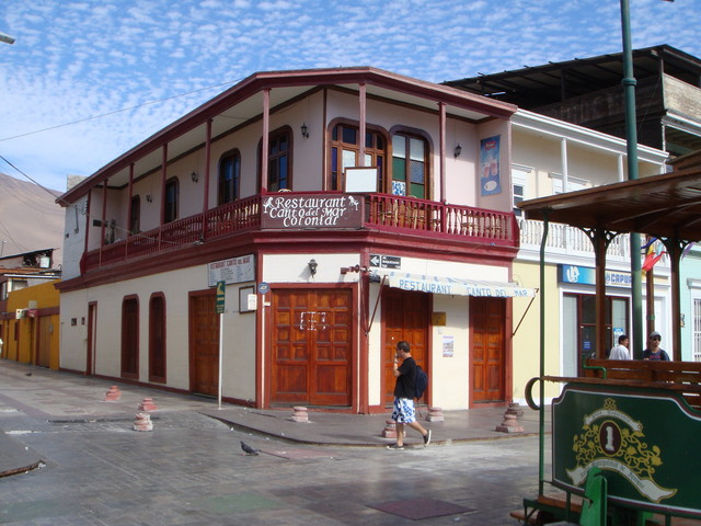 Iquique calle Baquedano