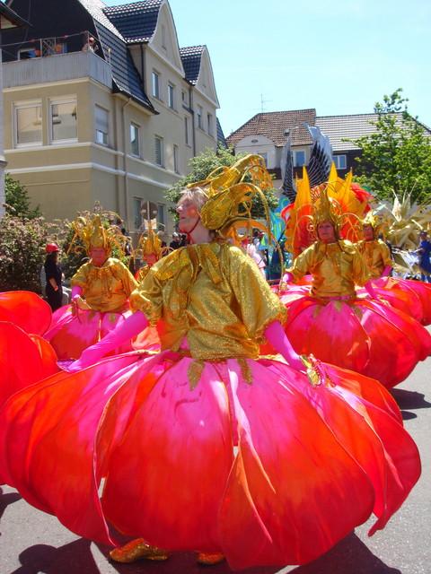 Tanzperformance von der Isle of Wight