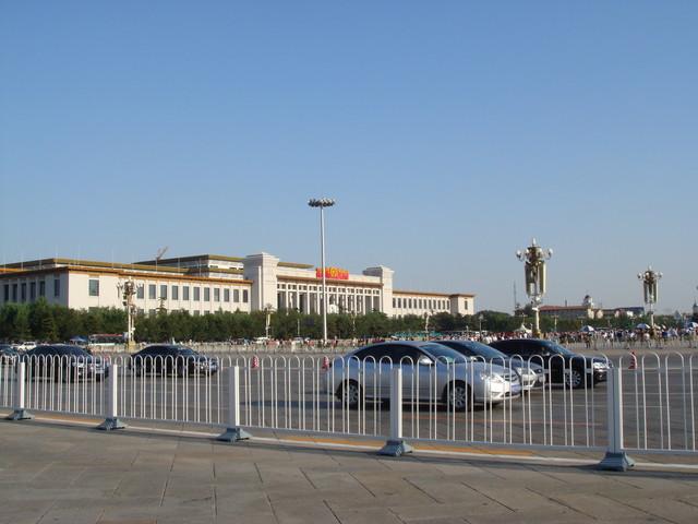 Peking Nationalmuseum am Platz des himmlischen Friedens