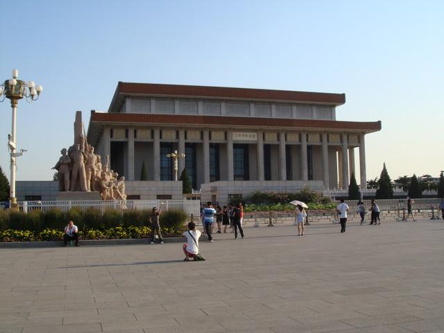 Mao Mausoleum am Platz des himmlischen Friedens