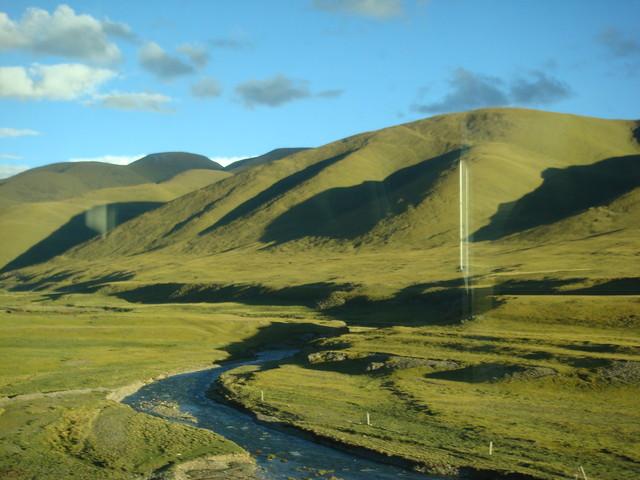 Fahrt mit der Tibetbahn