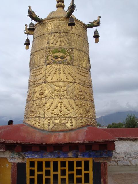 Detail im Joghang Tempel