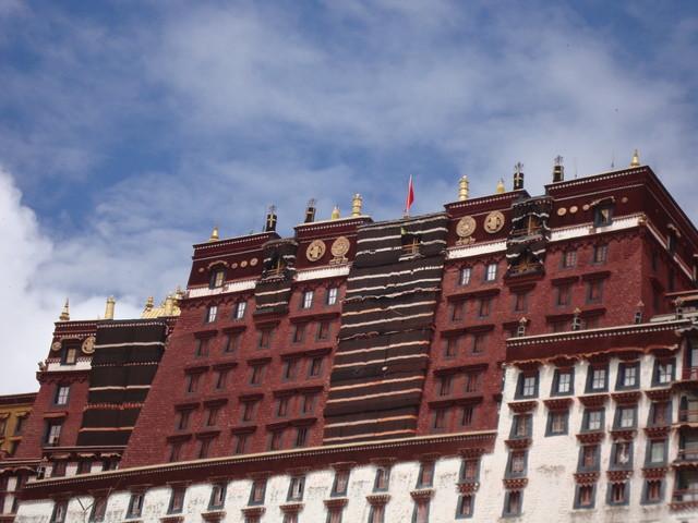 Potala Palast in Lhasa sakraler Bereich
