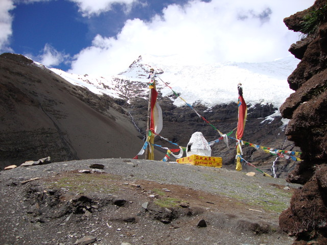 im tibetanischen Bergdorf