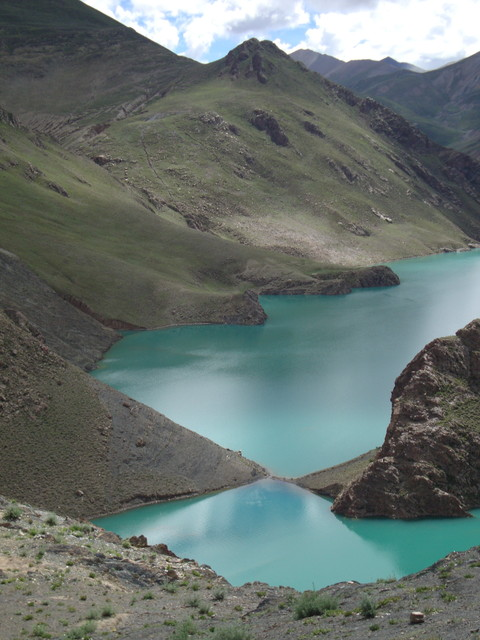 Stausee in Tibet