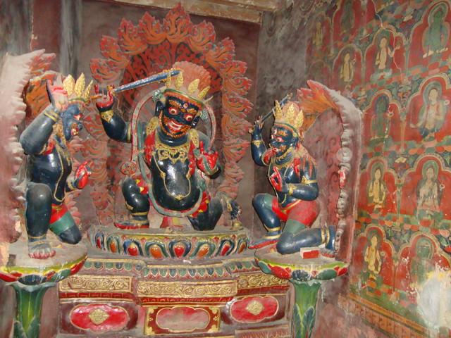Gyantse Kumbum Nische