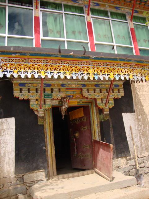 Bauernhof in Tibet