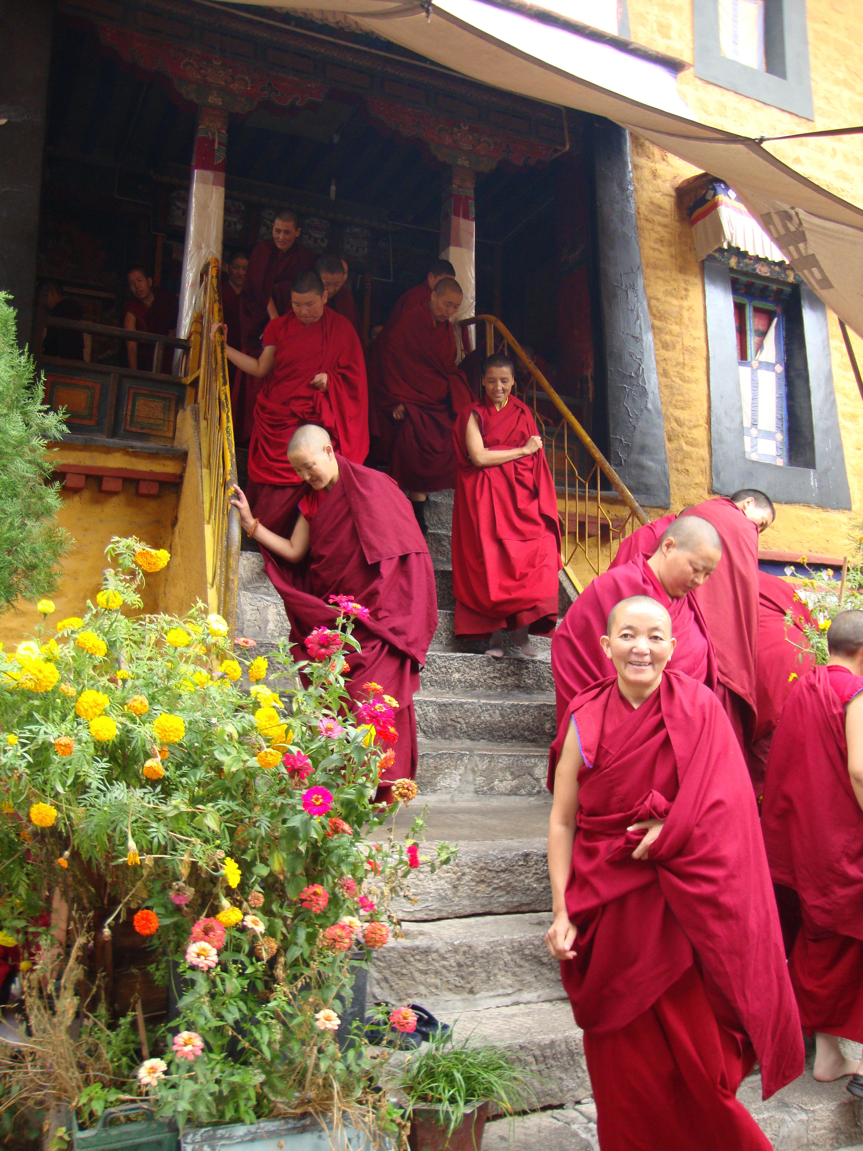 Nonnenkloster nach der Versammlung