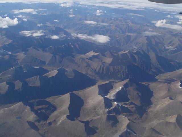 Tibet Luftbild