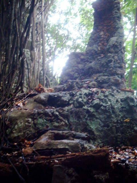 Parque national Cuevas de Cabarete Vodoo Sitz