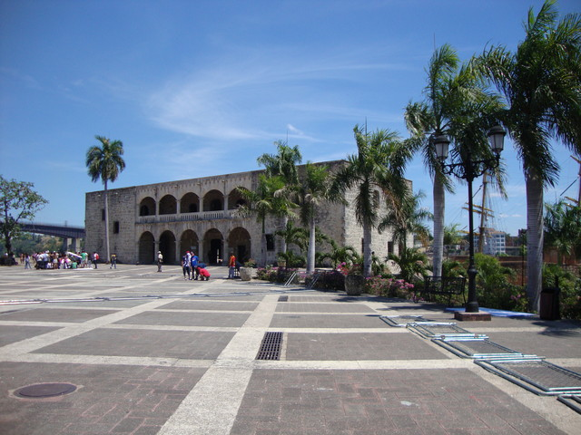 Santo Domingo Alcazar y plaza Espana