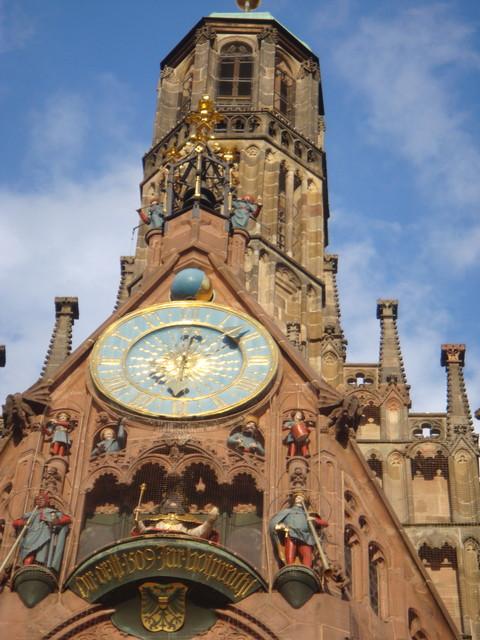 Uhrwerk an der Frauenkirche
