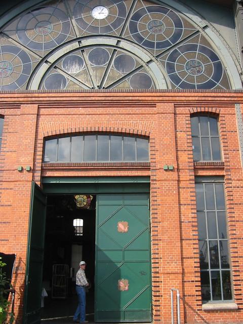 Hamburg Eingang zur Fischauktionshalle