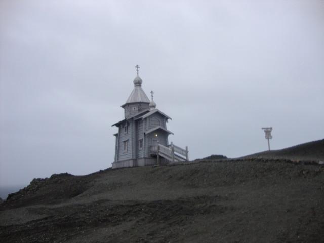 orthodoxe Kirche auf der Antarktis