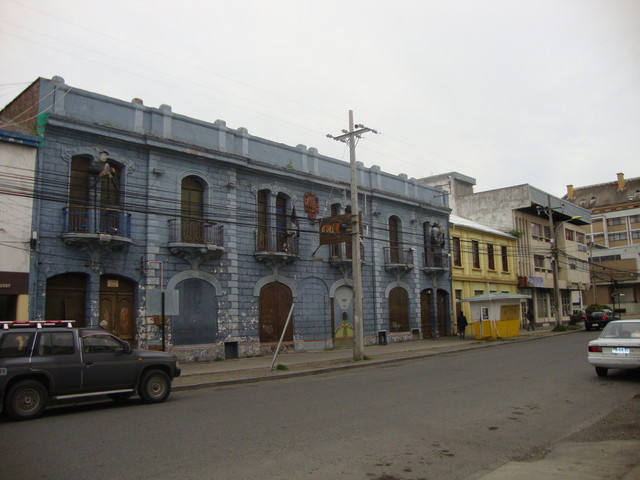 Disco en Punta Arenas