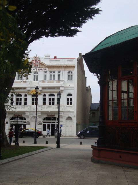 la Plaza en Punta Arenas