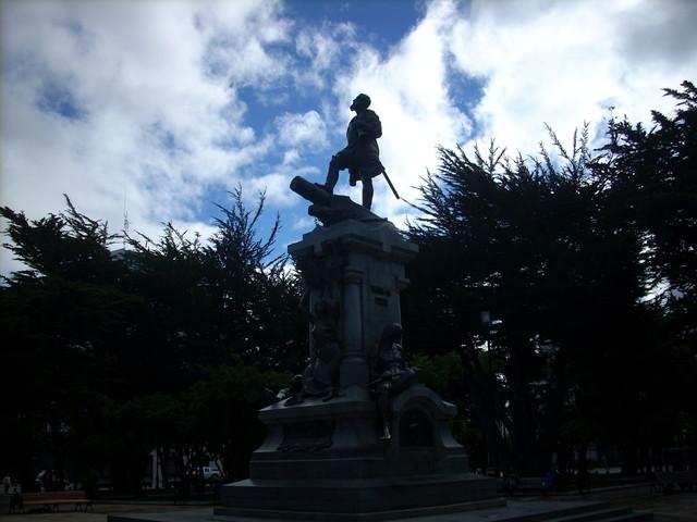Punta Arenas monumento de Magellan