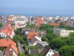 Vista de Wangerooge de la torre