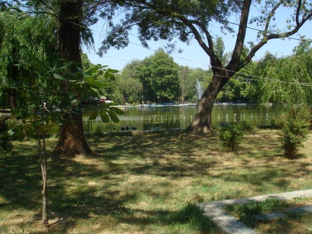 Bukarest Park in der Innenstadt
