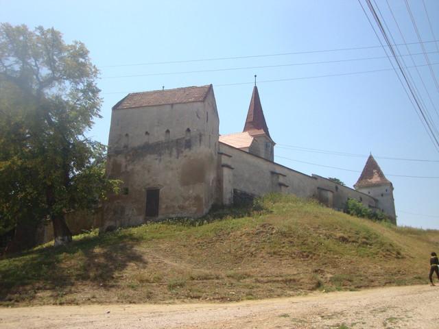 Kirchenburg unterwegs