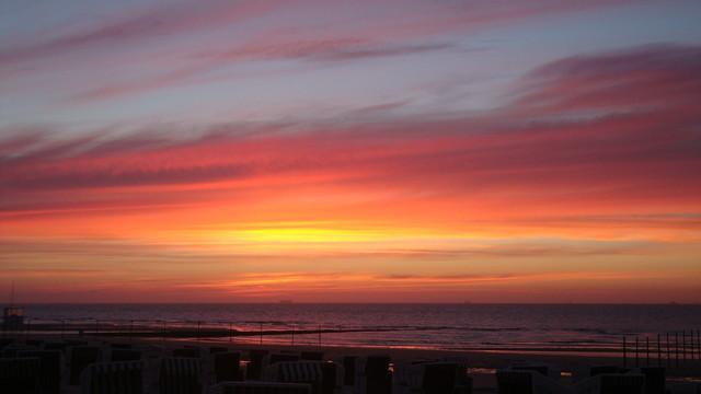 Sonnenuntergang Juni 2013