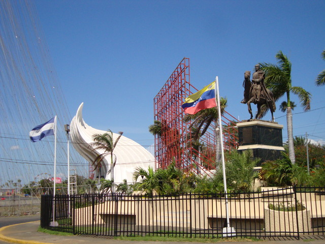 Managua Stadion am Malecon