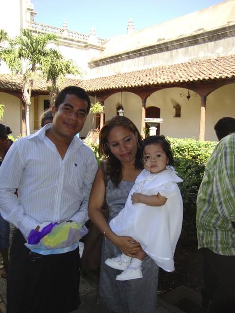 Taufe in der Kathedrale von Leon